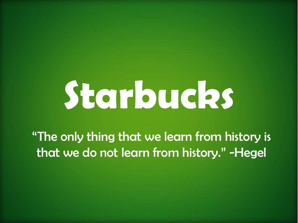 Coffee Wars -- Why Starbucks Will Not Win