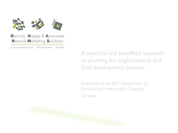 WHY STRATEGIC              PLANS GATHER DUST              A practical and simplified approach              to planning for...