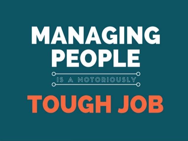 MANAGING PEOPLE  O  U § A N @ T @ @ H © @ § LY  TOUGH JOB