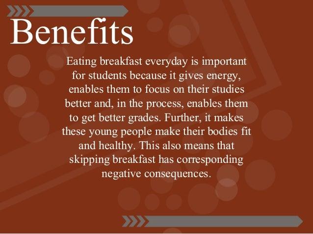 benefit of breakfast essay
