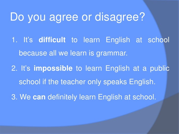 why should we study english