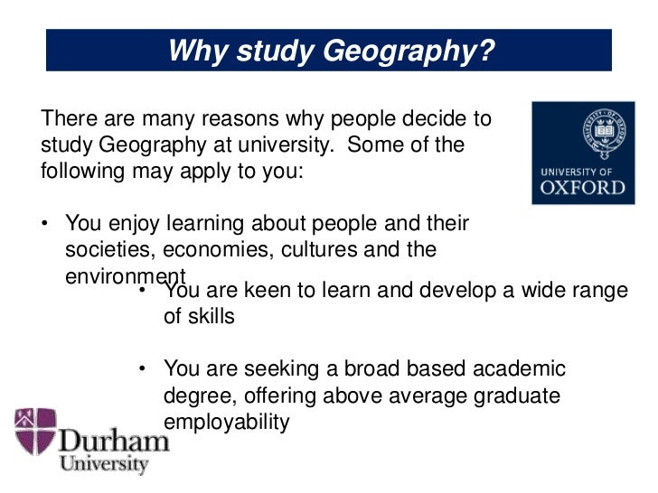 Top 10 Reasons to Study Geography