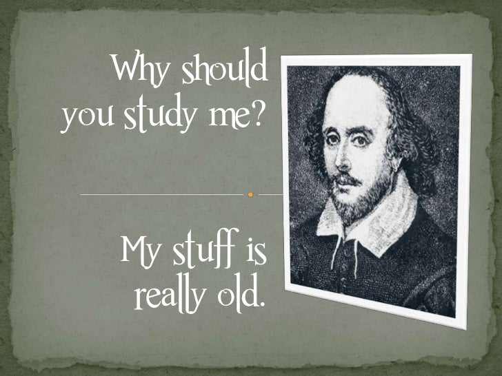 Shakespeare relevance today