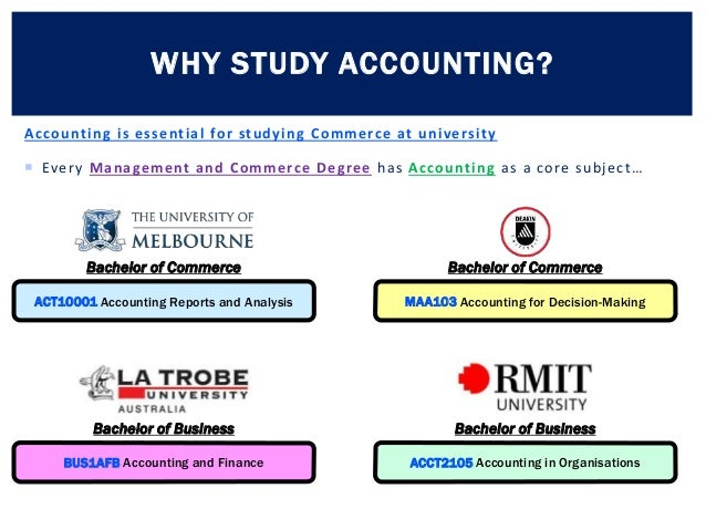 Why Study Accounting? - YouTube