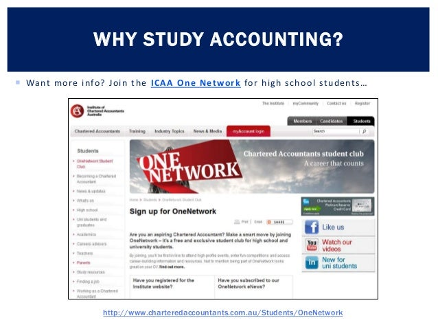 Why study accounting and finance? | Yahoo Answers