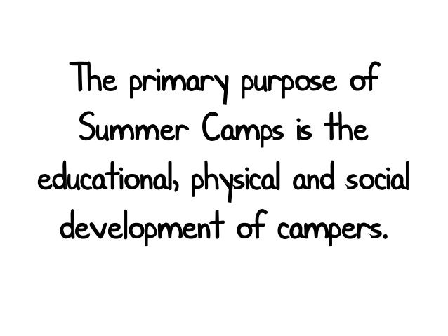 Why Summer Camp is important for Children
