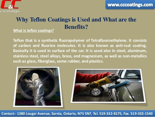 Why Teflon Coatings is Used and What are the Benefits