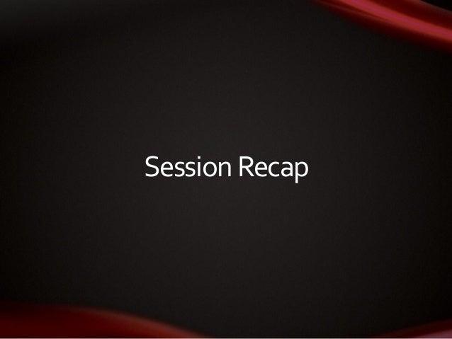SessionRecap