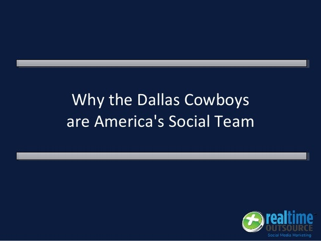 Why the Dallas Cowboys are America's Social Team