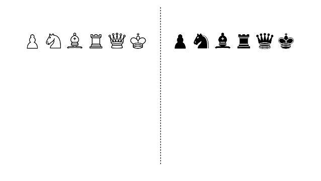 Pawn (w), Pawn (b), Pawn (w) Pawn (w), Pawn (b), Pawn (w)