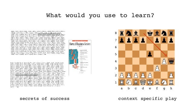 Navigation Learning Strategy