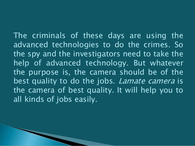 You can have the lawmate camera at an affordable rate from the online. There are many websites in the internet. These onli...