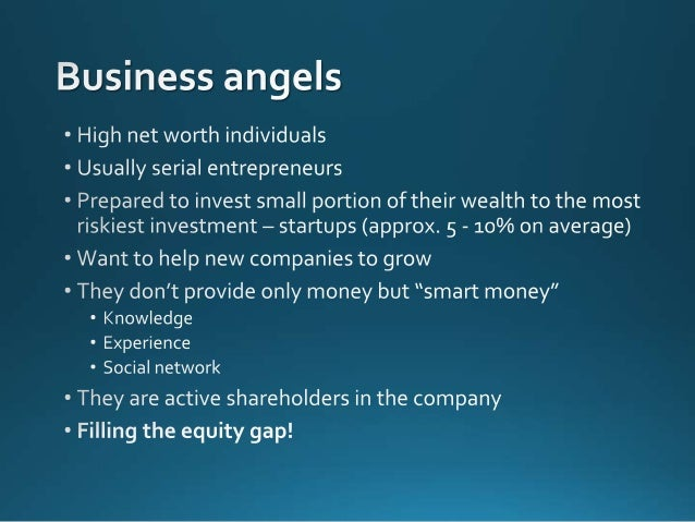 Why to become a business angel