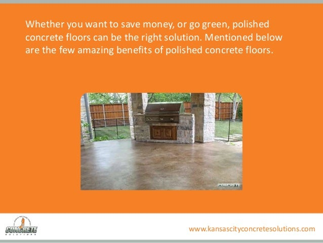 Why To Choose Polished Concrete Floors Amazing Benefits