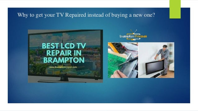 Getting the tv repaired