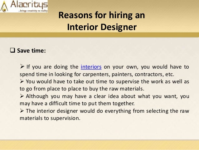 Why to hire top interior designers to renovate your home - Hiring a home designer saves much money and time ...