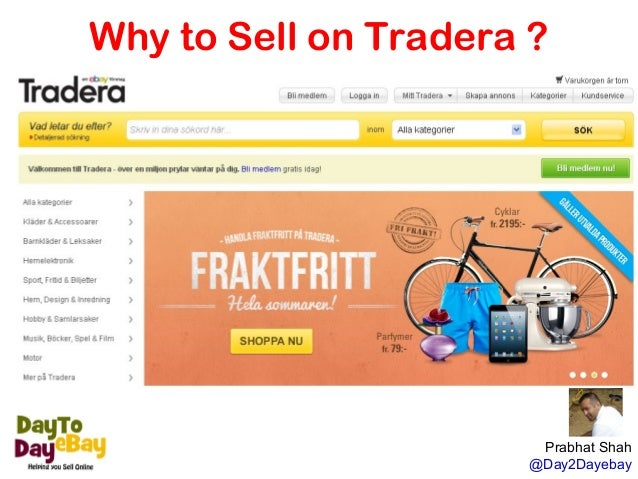 Why To Sell On Tradera