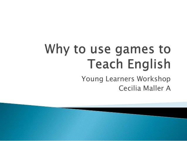 Young Learners Workshop Cecilia Maller A