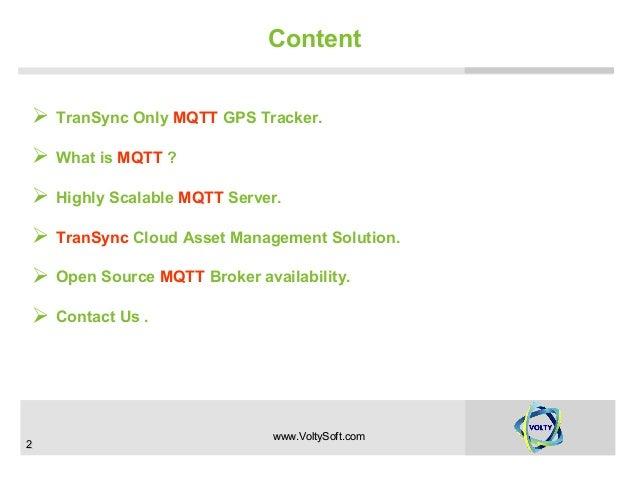 Why transync mqtt gps tracker