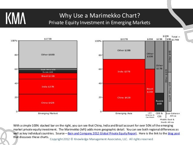 Why Use a Marimekko Chart?                             Private Equity Investment in Emerging Markets                      ...