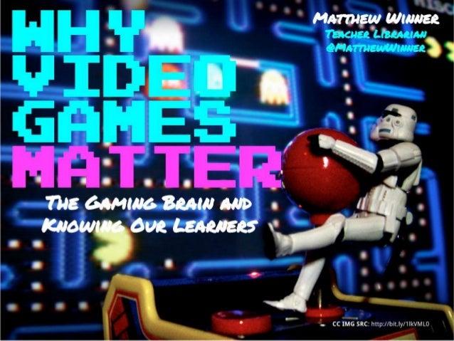 Why video games matter (ALA Webinar 05 19-14)