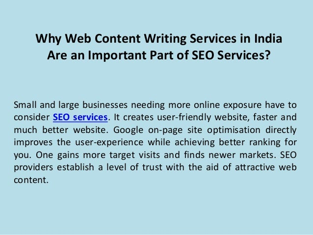 Content writing service your website
