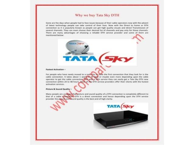 Why we buy tata sky dth, dish tv dth, videocon d2h hd