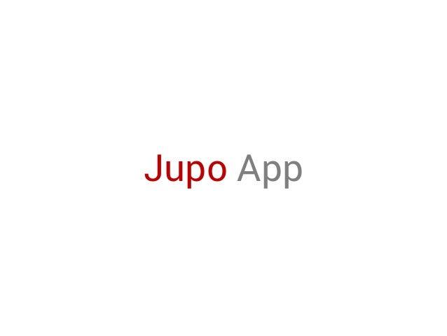 Jupo App