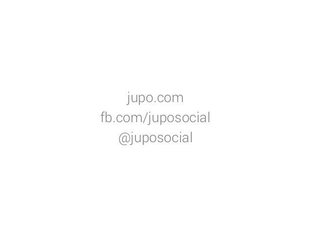 jupo.com fb.com/juposocial @juposocial