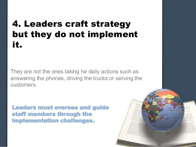 why good strategies fail execution essay Organizational improvement is only achieved if strategic priorities can be translated into an effective operational execution the lack of a detailed and structured plan that coordinates the multiple available resources, within the frame conditions, such as time and cost, it is often the reason why.