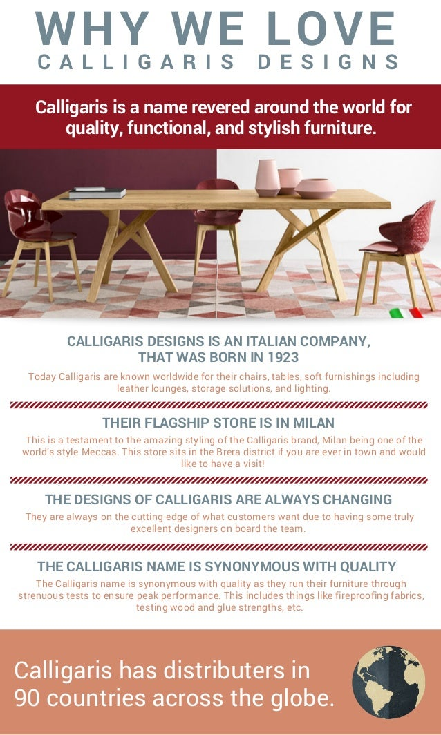 Calligaris Is A Name Revered Around The World For Quality, Functional, And  Stylish Furniture