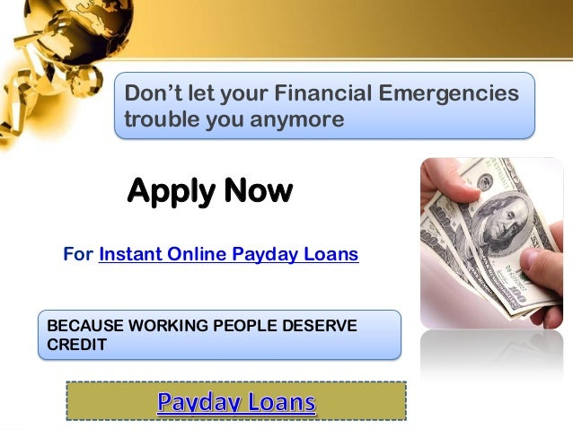 need a payday loan