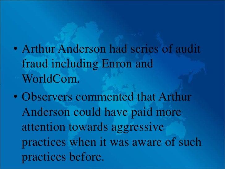 World-Class Scandal At WorldCom