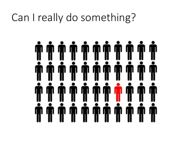 Can I really do something?