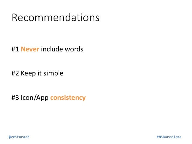 Remember #1 We are lazy… We only read the first 2 or 3 lines of  the description #2 In Android apps: Include keywords!  @v...