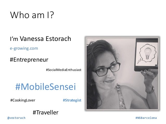 Why are you here?  Make more €€€ Make your app stand out Just Curious Other…  You don't KNOW… @vestorach  #NSBarcelona