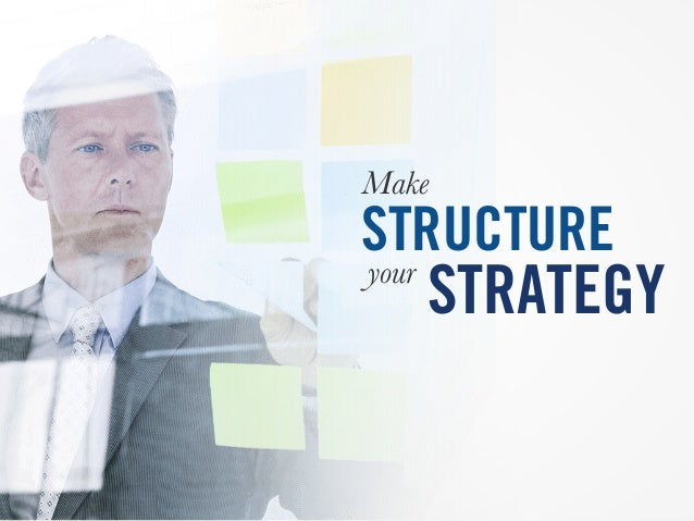 Make STRUCTURE your STRATEGY