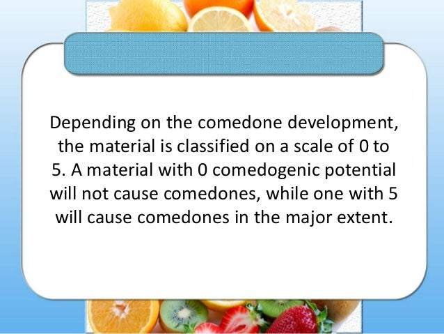 Why you must avoid comedogenic products