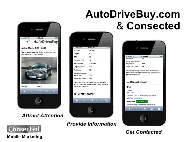 AutoDriveBuy.com                                      & Consected      Attract Attention                          Provide ...