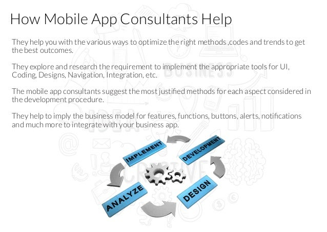 Why you need business mobile app consultant for App consulting