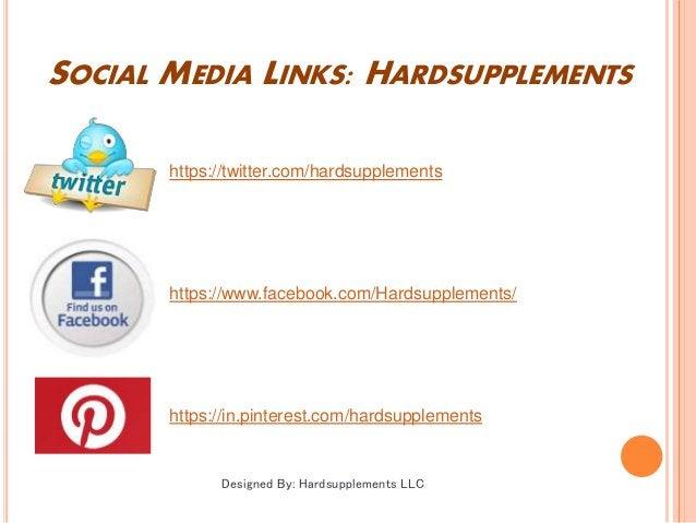 SOCIAL MEDIA LINKS: HARDSUPPLEMENTS https://twitter.com/hardsupplements https://www.facebook.com/Hardsupplements/ https://...