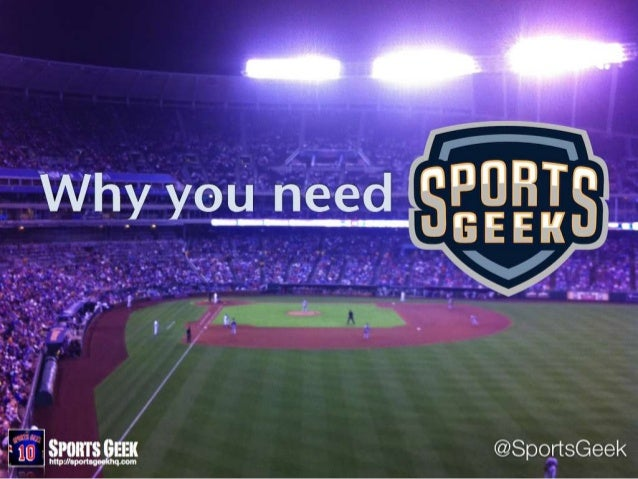 Why You Need Sports Geek