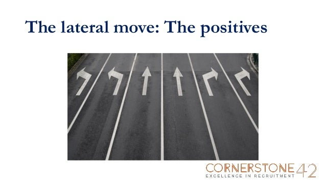what is a lateral career move