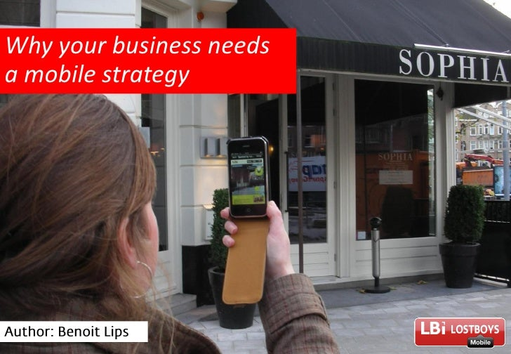 Why your business needs a mobile strategy