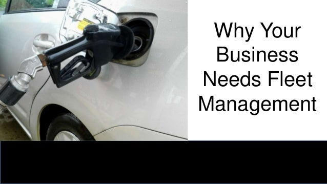 Why Your Business Needs Fleet Management