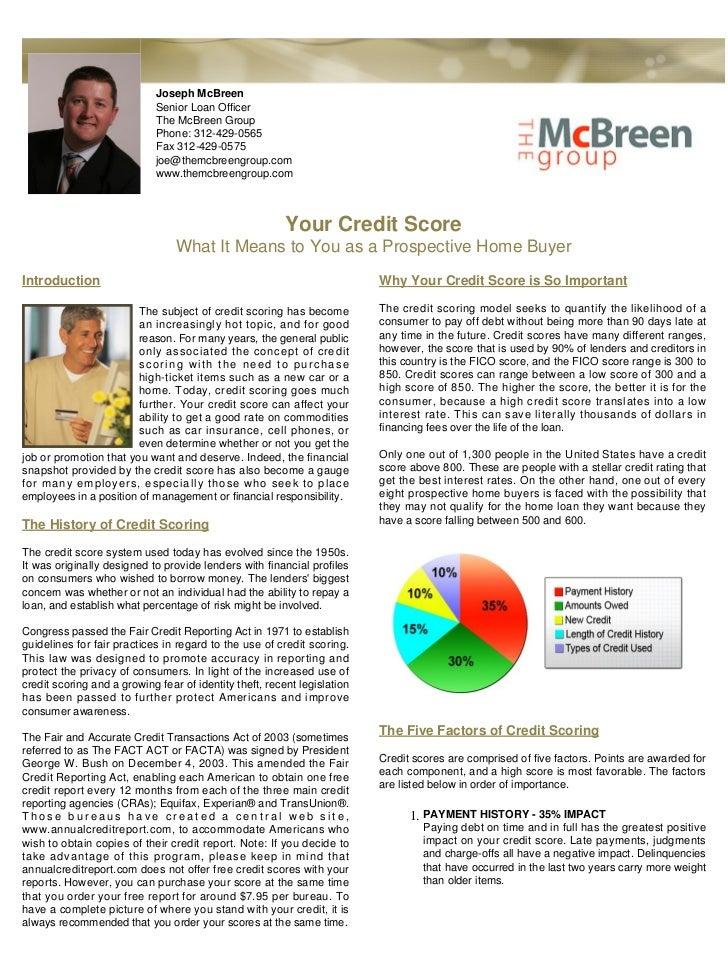 Joseph McBreen                             Senior Loan Officer                             The McBreen Group              ...