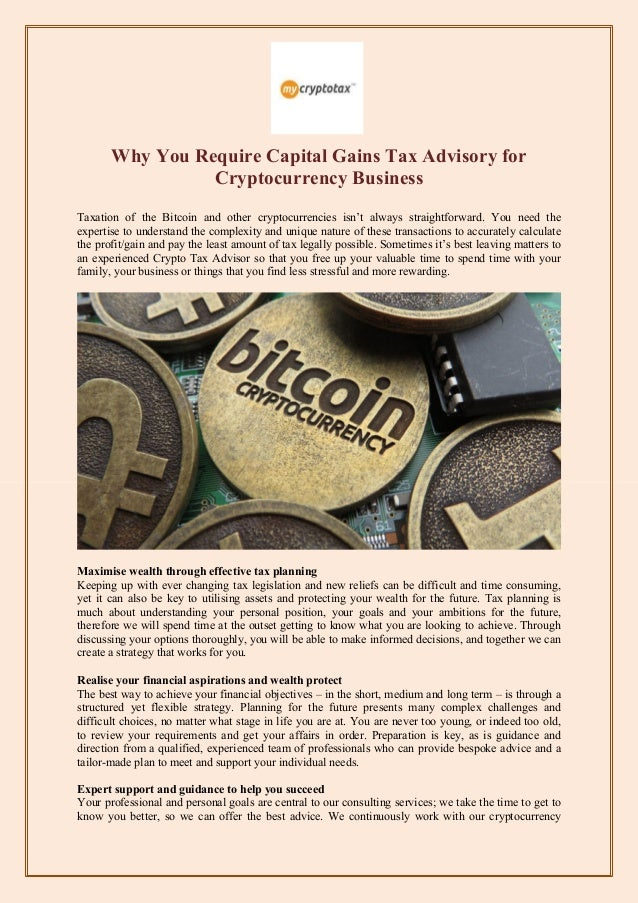 is cryptocurrency taxed as capital gains