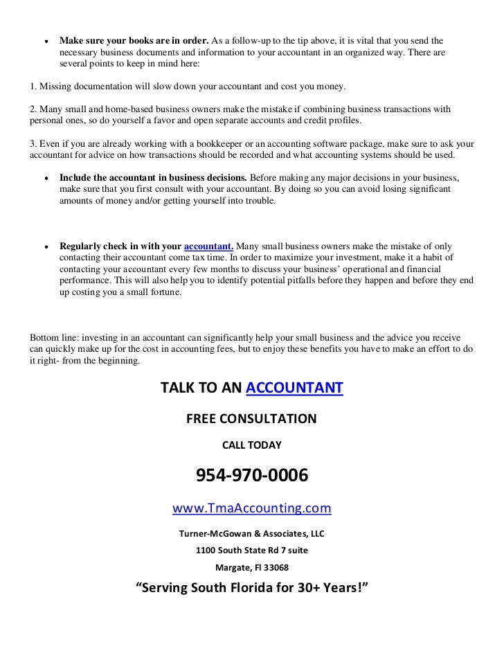 Why your small business needs an accountant and how you can save on a 3 solutioingenieria Gallery