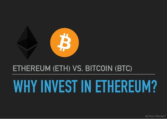 Invest in bitcoin and ethereum