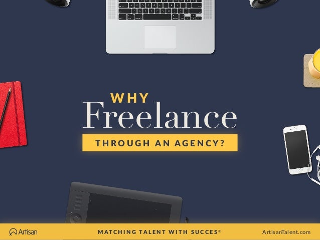 why you should freelance through an agency | artisan talent, Powerpoint templates